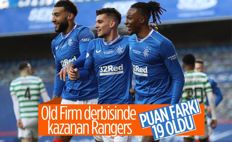 Celtic'i yenen Rangers puan farkını 19'a çıkardı