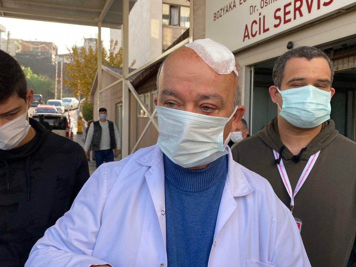 İzmir de maske uyarısı yapan doktora taşlı saldırı #1