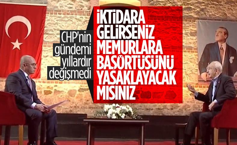 Kemal Kılıçdaroğlu: Başörtüsü kapanmış bir konudur
