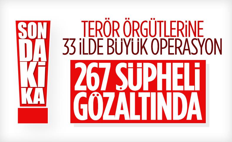 İçişleri Bakanlığı: Terör örgütlerine yönelik eylem operasyonu gerçekleştirildi