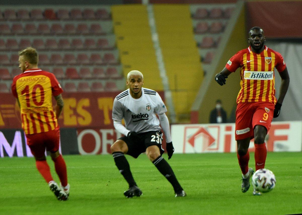 Beşiktaş Kayserispor u 2 golle yenerek lider oldu #2