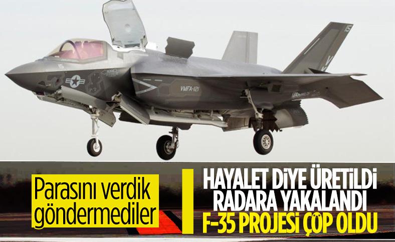 F-35'lerde seri üretim askıya alındı