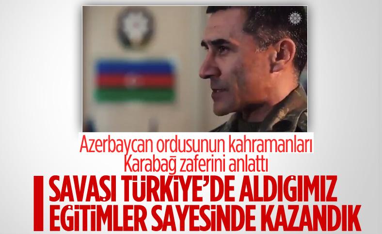 Azerbaycan ordusunun kahramanları, Karabağ zaferini anlattı
