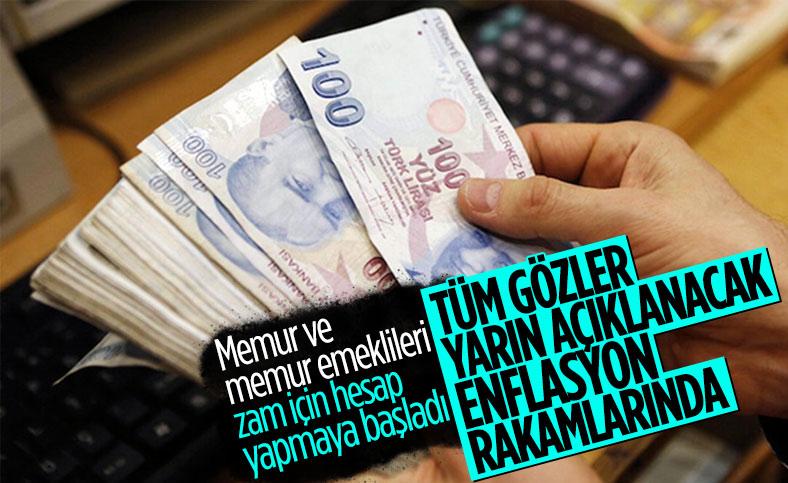 TÜİK yarın yıllık enflasyon rakamlarını açıklayacak
