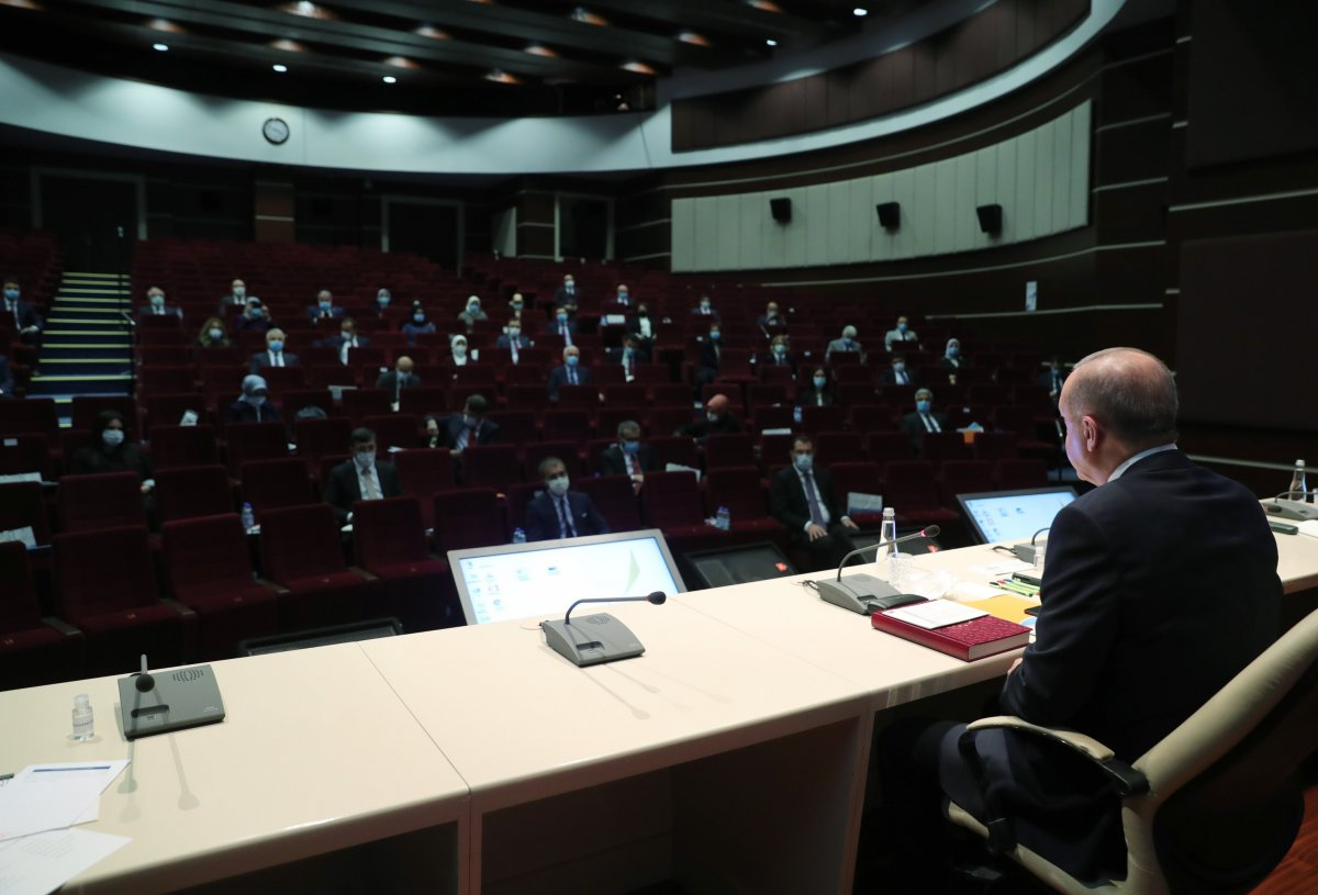 AK Parti 2021 in ilk MYK sında reform gündemiyle toplanıyor #2