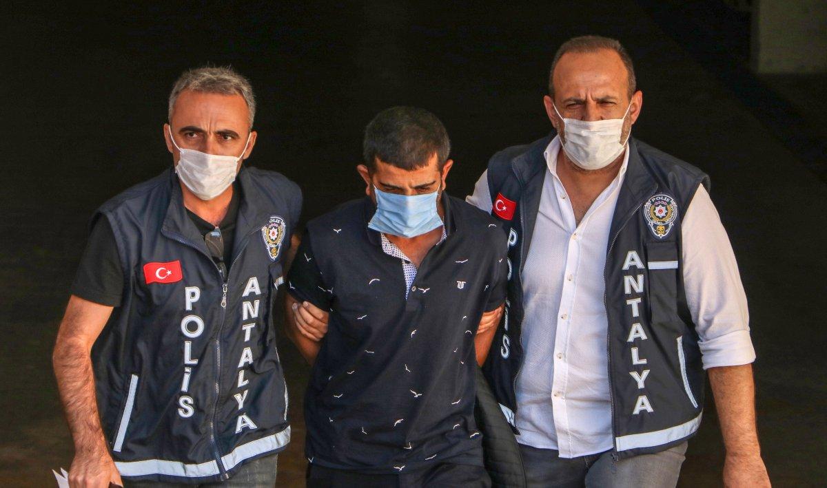 Antalya'da sevgilisi öldüren cani 112'yi arayıp 'bir adam kadına sıktı' dedi