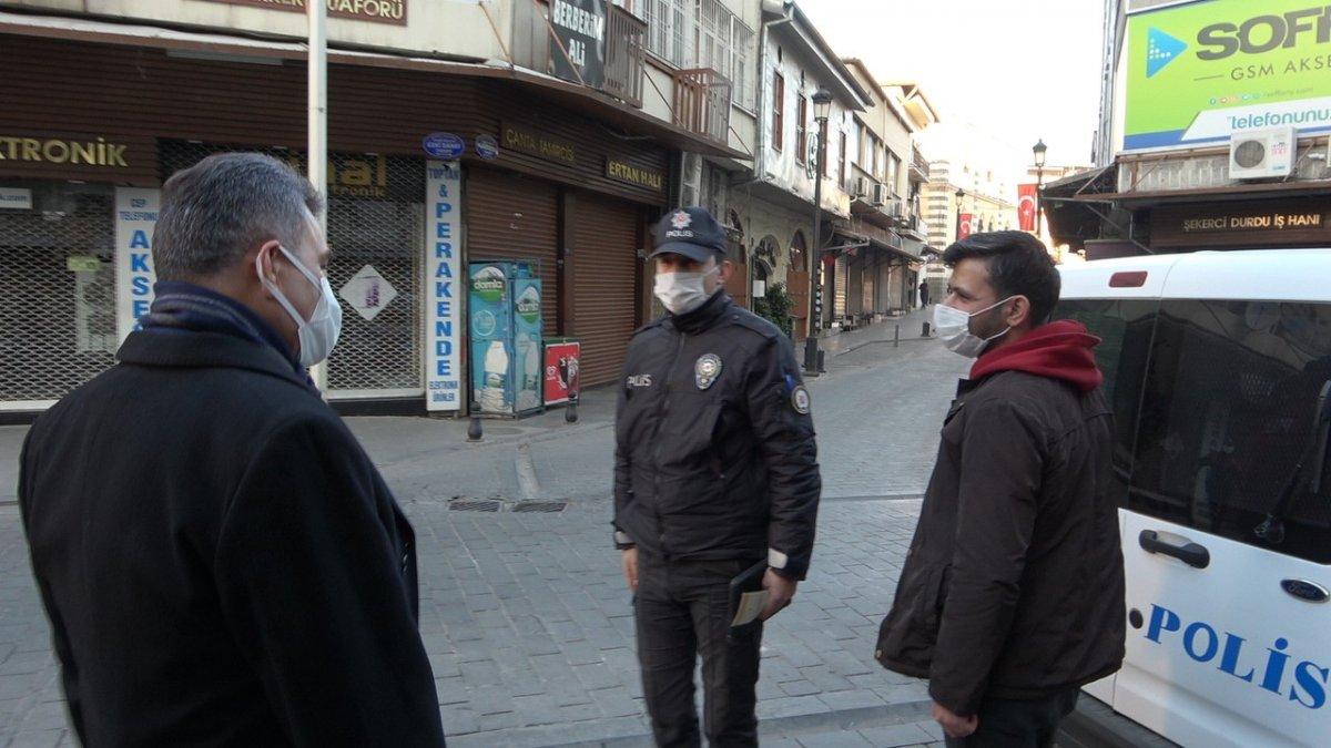 Sokak kısıtlamasına uymayan 51 bin 152 kişiye işlem yapıldı #2