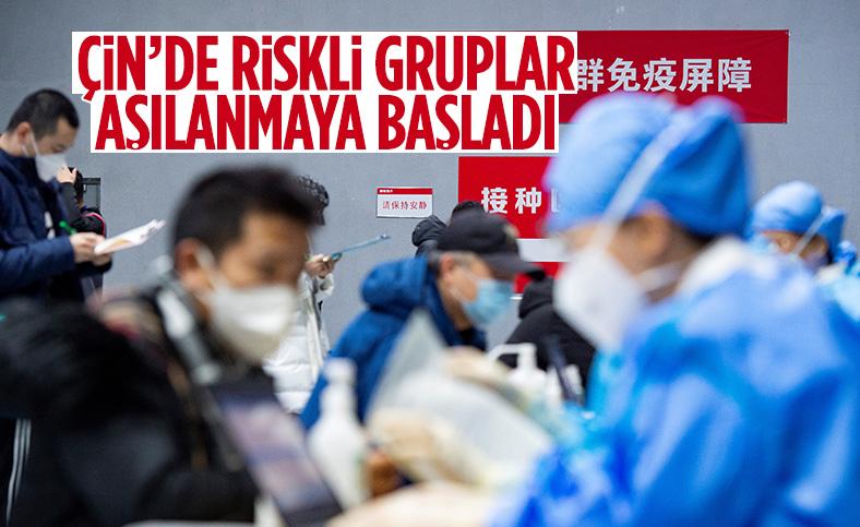 Çin'de koronavirüs aşısı riskli gruplara yapılmaya başladı