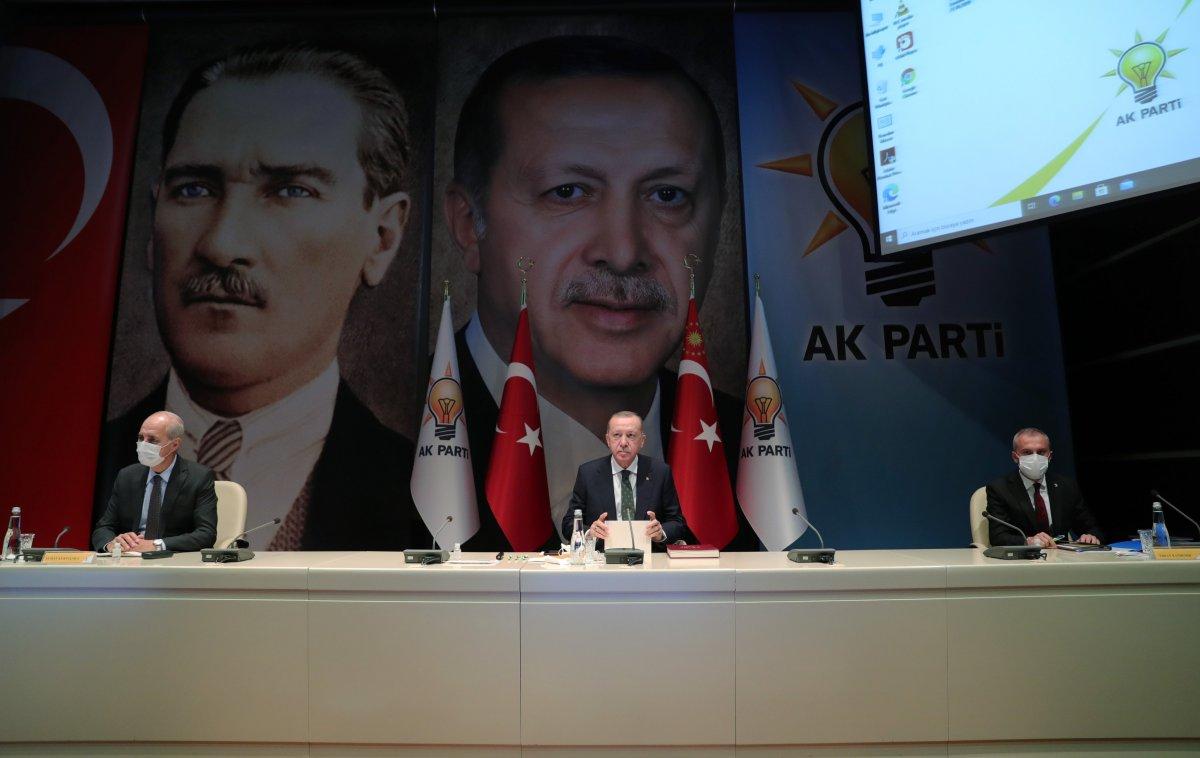 AK Parti 2021 in ilk MYK sında reform gündemiyle toplanıyor #1