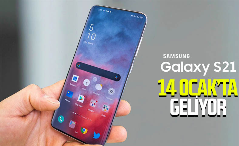 Samsung Galaxy S21 serisi 14 Ocak'ta tanıtılacak