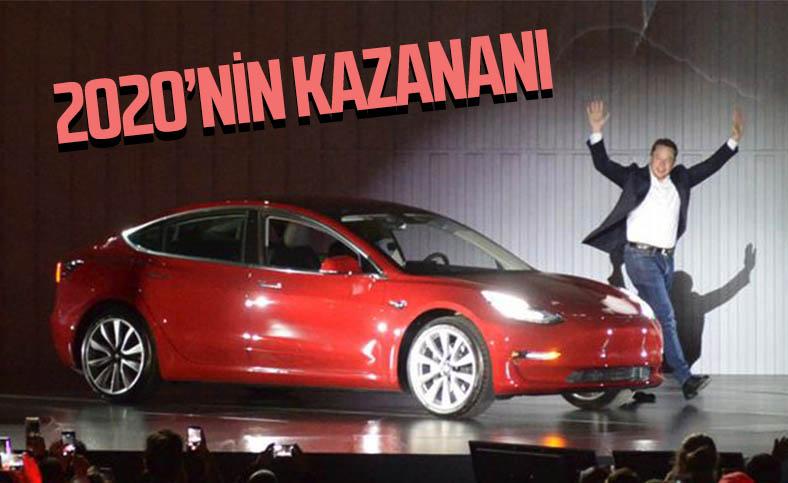 Tesla satışları 2020'de yüzde 36 arttı