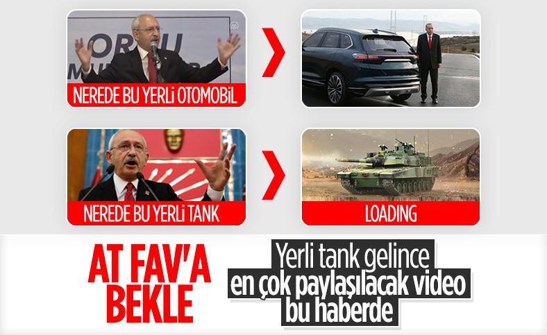 Kemal Kılıçdaroğlu: Nerede bu tank