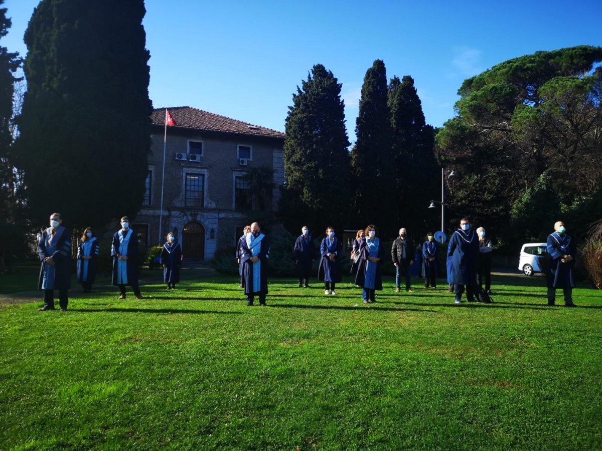 Boğaziçi Üniversitesi nde akademisyenler, devir-teslim törenini protesto etti #3