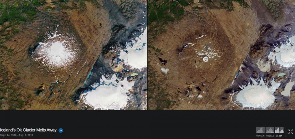 NASA, iklim değişikliğinin dünyayı nasıl değiştirdiğini gösteren fotoğrafları yayınladı #6
