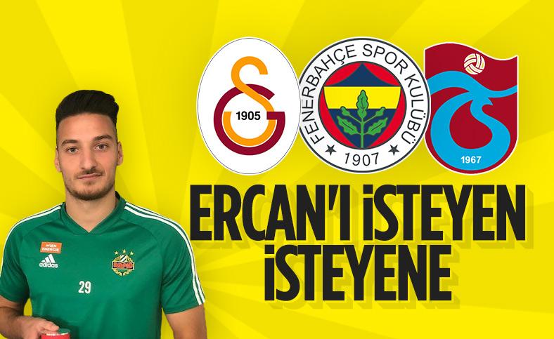 Fenerbahçe, Galatasaray ve Trabzonspor Ercan Kara'yı istiyor