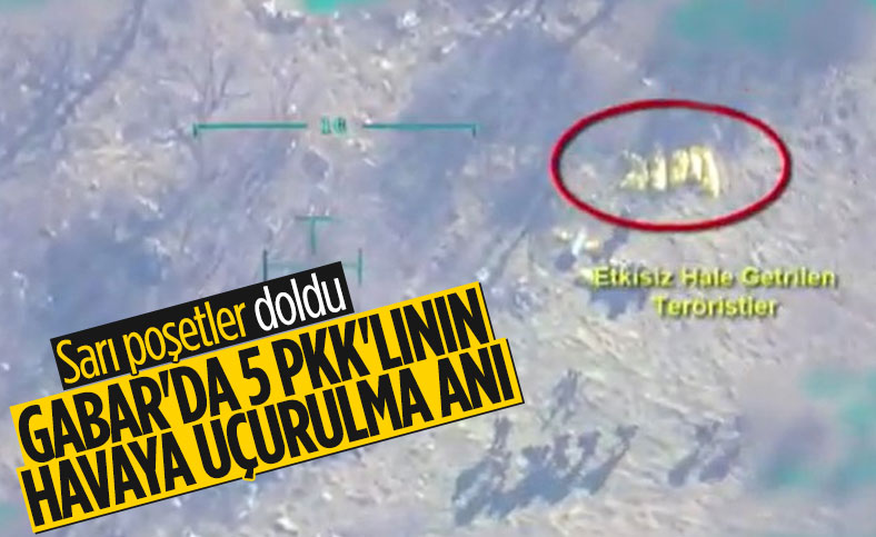 Gabar Dağı'ndaki 5 teröristin etkisiz hale getirildiği operasyon