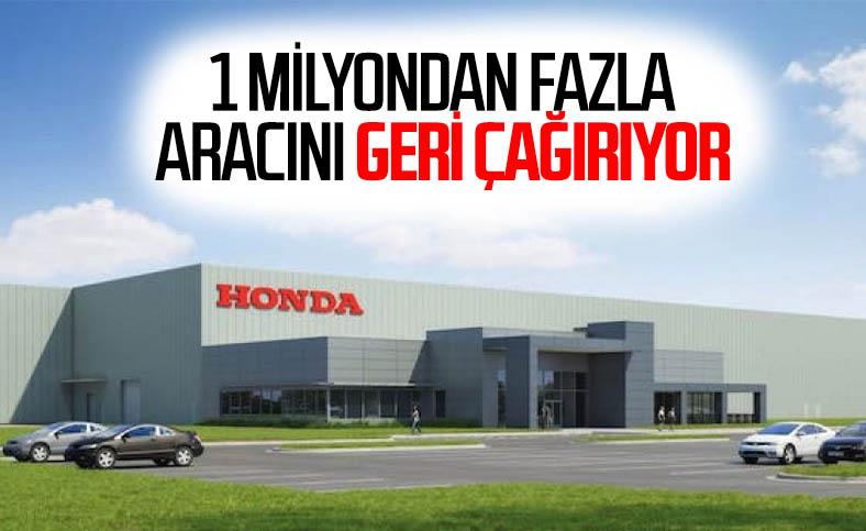 Honda, 1 milyondan fazla aracını geri çağırıyor