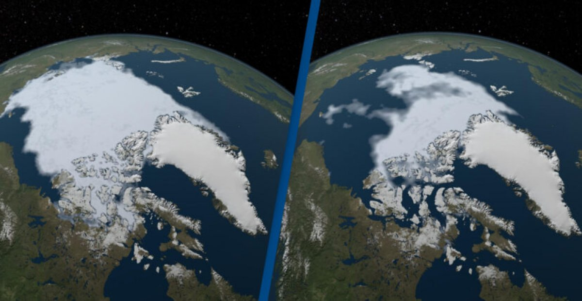 NASA, iklim değişikliğinin dünyayı nasıl değiştirdiğini gösteren fotoğrafları yayınladı #1