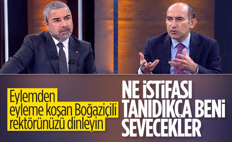 Boğaziçi Üniversitesi Rektörü Melih Bulu: Neden istifa edeyim