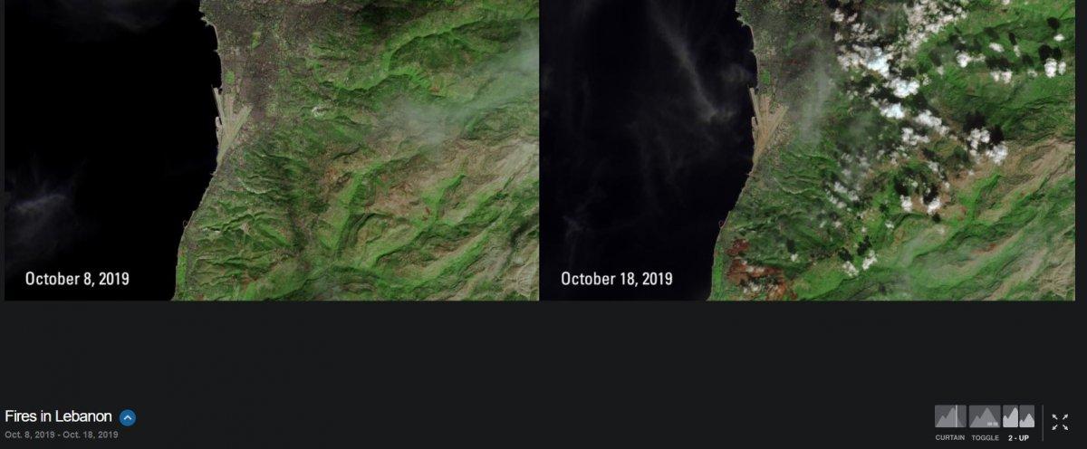 NASA, iklim değişikliğinin dünyayı nasıl değiştirdiğini gösteren fotoğrafları yayınladı #21