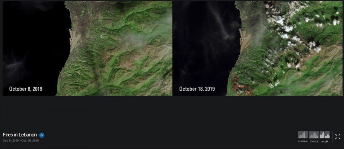 NASA, iklim değişikliğinin dünyayı nasıl değiştirdiğini gösteren fotoğrafları yayınladı #13