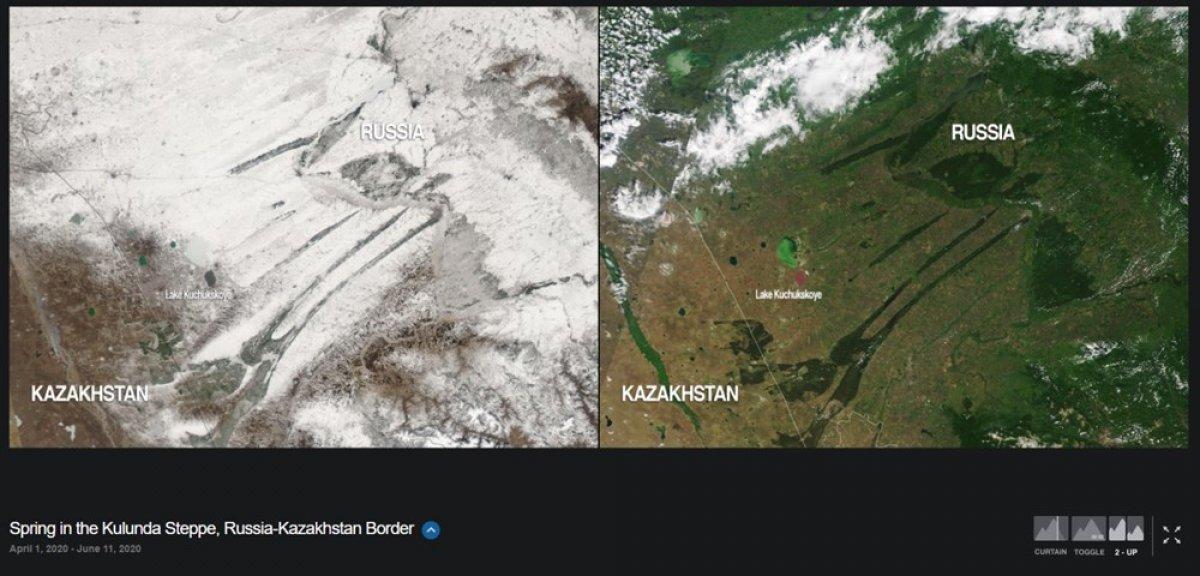 NASA, iklim değişikliğinin dünyayı nasıl değiştirdiğini gösteren fotoğrafları yayınladı #3