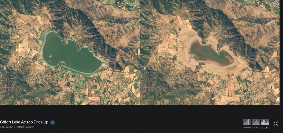 NASA, iklim değişikliğinin dünyayı nasıl değiştirdiğini gösteren fotoğrafları yayınladı #26