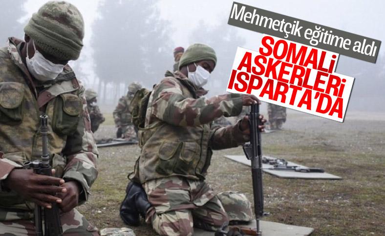 Somalili askerler, Türkiye'de komando eğitimi alıyor