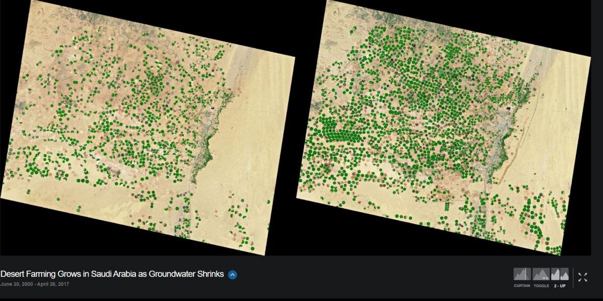 NASA, iklim değişikliğinin dünyayı nasıl değiştirdiğini gösteren fotoğrafları yayınladı #24