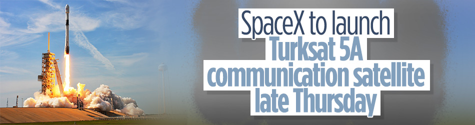 Turksat 5A satellite set for launch by Falcon 9 rocket from US