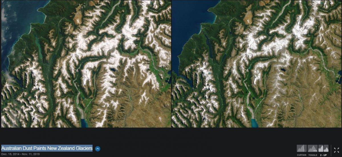 NASA, iklim değişikliğinin dünyayı nasıl değiştirdiğini gösteren fotoğrafları yayınladı #23