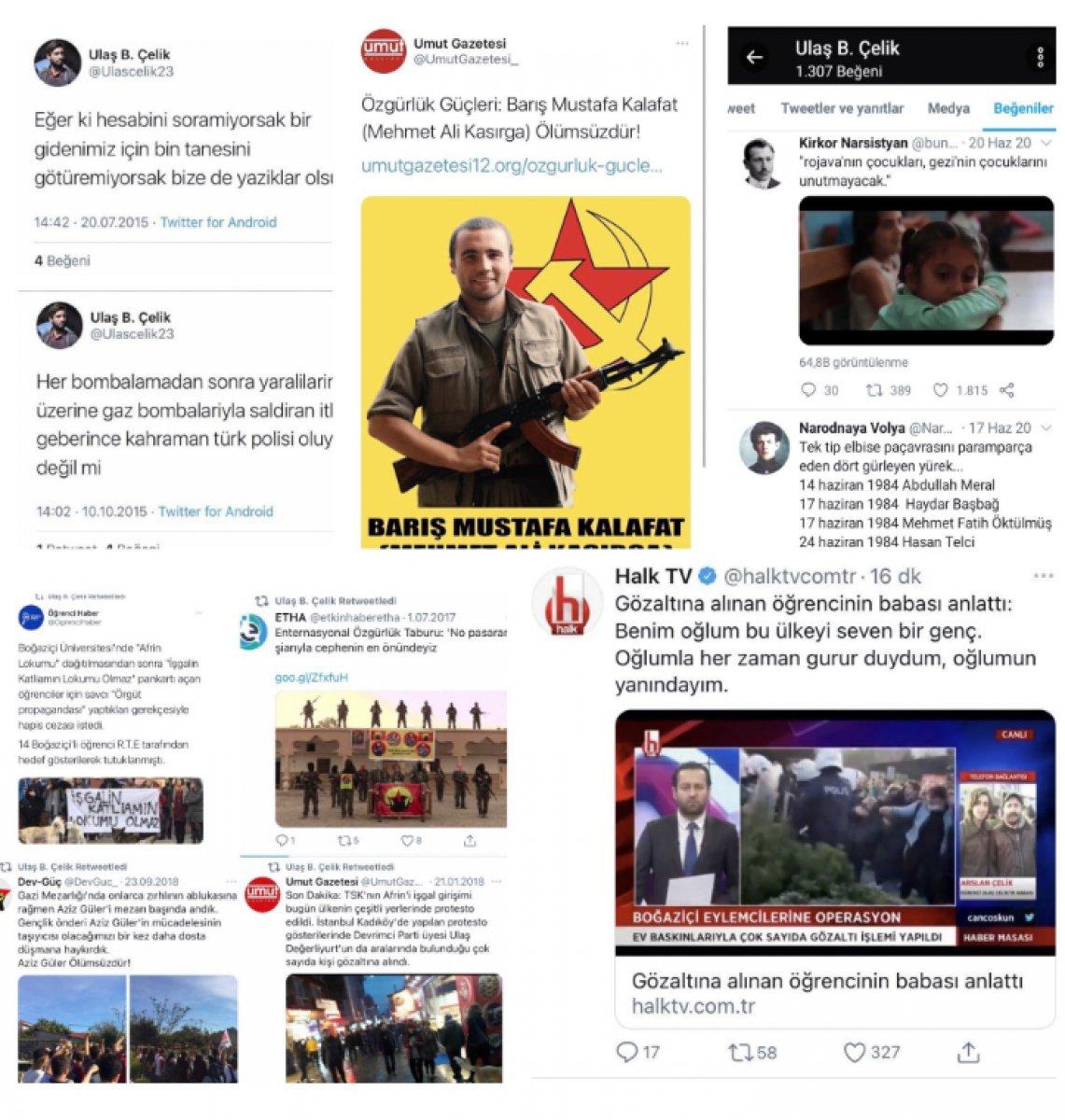Mehmet Ersoy dan gözaltına alınan Ulaş Çelik paylaşımı #1