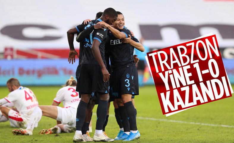 Trabzonspor, Göztepe'yi tek golle yendi