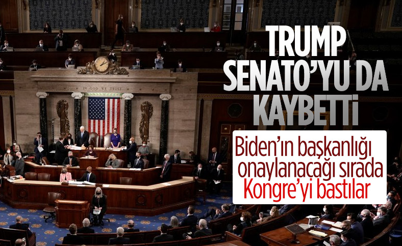 ABD Senatosu'nun kontrolü Demokratlar'a geçti
