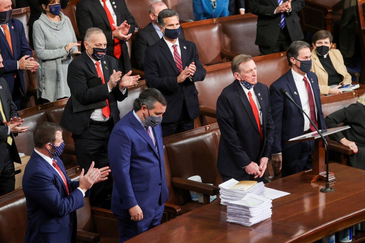 ABD Kongresi, Biden ın başkanlığını onaylayacak #5