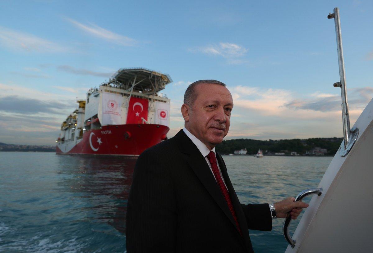 İsrail basınından Makorrishon: Erdoğan, Akdeniz de  Türk hilalini  uyguluyor #1