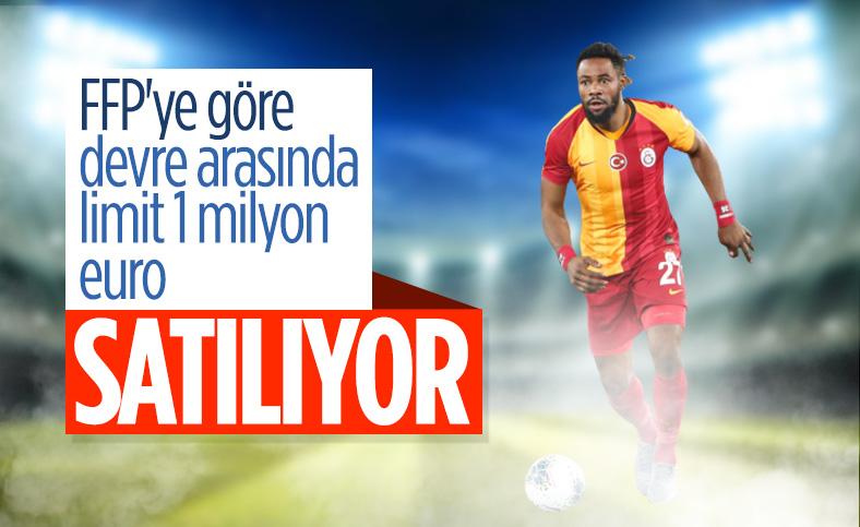 Galatasaray, Luyindama'yı satışa çıkardı