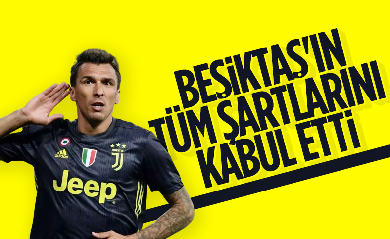 Beşiktaş, Mandzukic transferinde sona yaklaştı