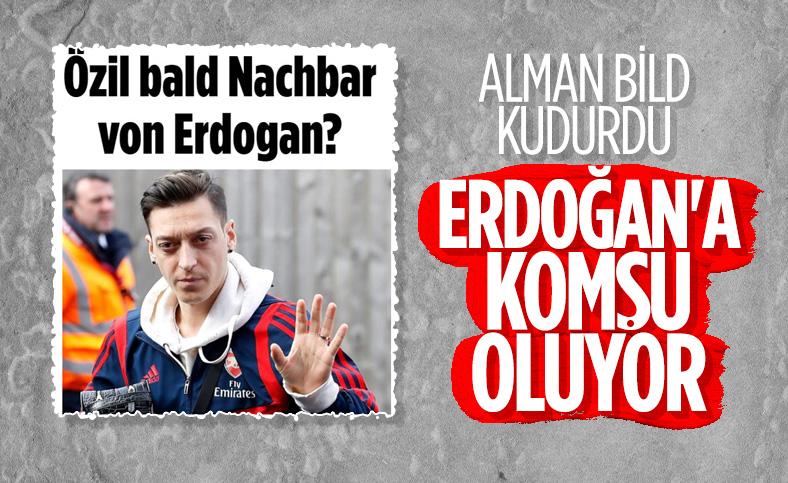 Mesut Özil'in Erdoğan'a komşu olması Bild'i rahatsız etti