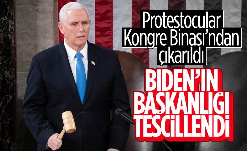 ABD Kongresi, Biden'ın başkanlığını onaylayacak