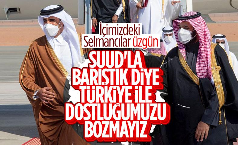 Katar: Körfez anlaşması Türkiye ile ilişkilerimizi değiştirmeyecek