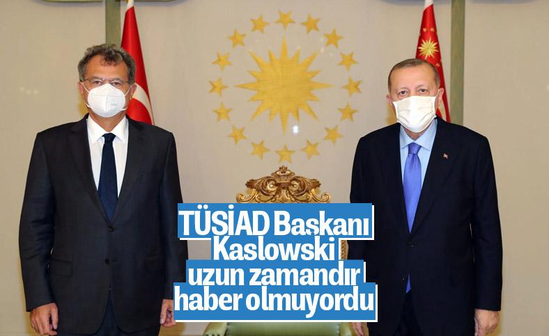 Cumhurbaşkanı Erdoğan, TÜSİAD Başkanını kabul etti