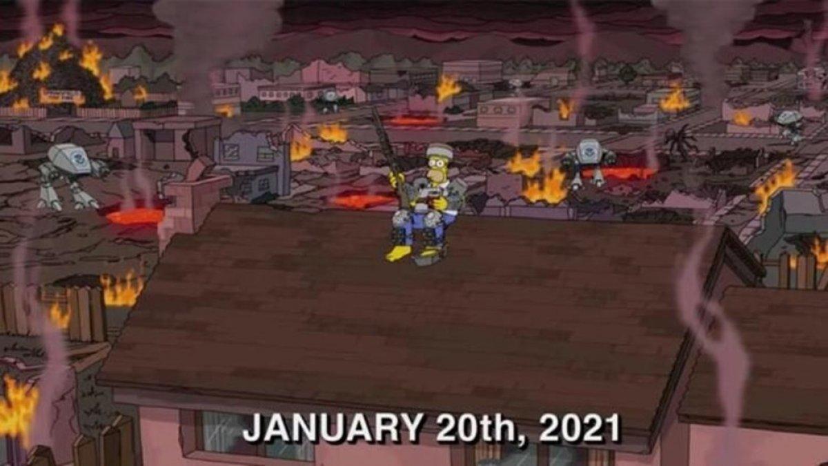 Simpsonlar ın kehaneti yine tuttu #3