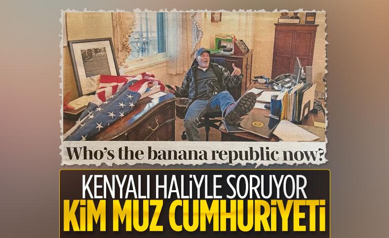 Kenya medyasından Amerika'ya: Muz Cumhuriyeti şimdi kim?