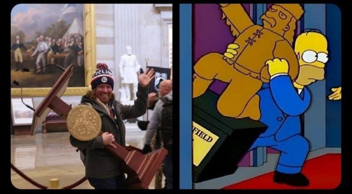 Simpsonlar ın kehaneti yine tuttu #2