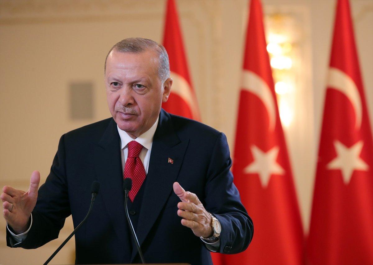 Cumhurbaşkanı Erdoğan dan  Boğaziçi  açıklaması: Eylemlerin fikir özgürlüğüyle alakası yok #1
