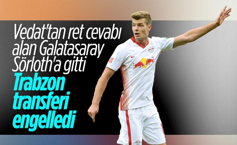Galatasaray'ın Sörloth transferine Trabzonspor engeli