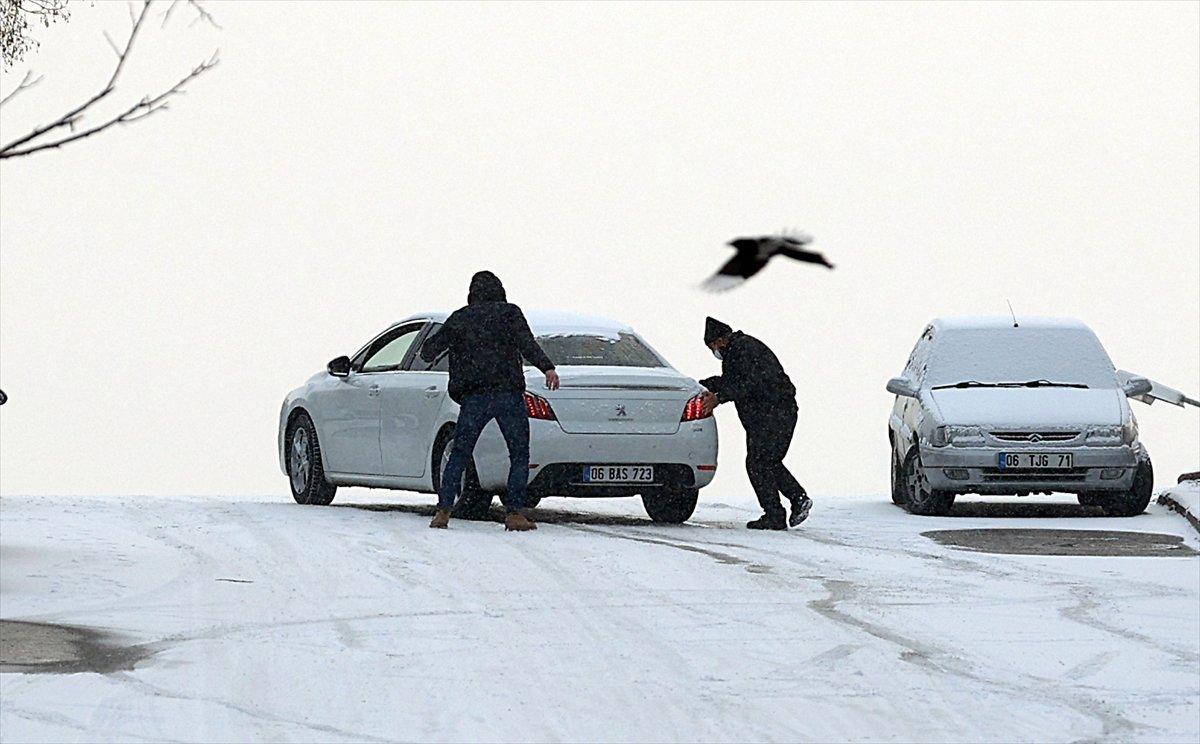 Meteoroloji uyardı: Ankara ya kar geliyor #1