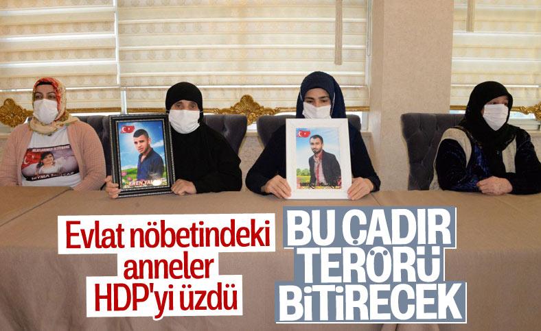 Diyarbakır nöbetinde 20 aile evladına kavuştu