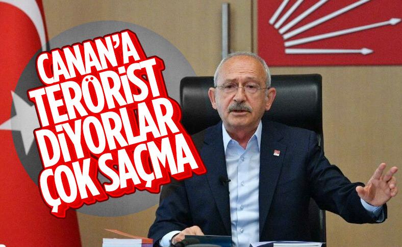 Kılıçdaroğlu: Canan Kaftancoğlu'na terörist demek çok saçma